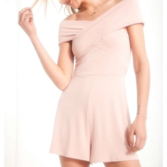 silence + noise Other - Silence + Noise over the shoulder romper